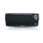 iogear GKM681R RF Wireless QWERTY Black keyboard