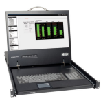 Tripp Lite 1U Rack-Mount Console with 19-in. LCD