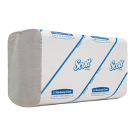 SCOTT HAND TOWELS WHITE 6659 PK15