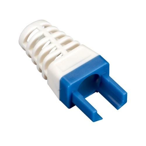 Black Box C6EZ-BOOT-BL cable boot Blue,White 25 pc(s)