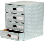 Fellowes 4481701 desk drawer organizer Paper Green