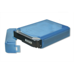SYBA SY-ACC35011 storage drive case Cover Polypropylene (PP) Blue
