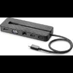 HP USB-C Mini Wired USB 3.2 Gen 1 (3.1 Gen 1) Type-C Black