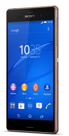 Sony Xperia Z3 16GB Smartphone - Copper