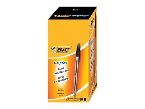 BIC Cristal Medium Black 50pc(s)
