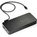 HP USB-C Notebook Lithium-Ion (Li-Ion) 20100mAh Black power bank