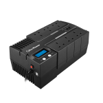 CyberPower BR700ELCD uninterruptible power supply (UPS) Line-Interactive 700 VA 420 W 6 AC outlet(s)
