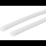 VivoLink Self close braid sleeve white