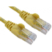 Cables Direct 1m Economy 10/100 Networking Cable - Yellow