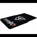ThunderX3 TGM20 Black Nylon,Thermoplastic Rubber (TPR) furniture floor protector mat