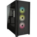 Corsair iCUE 5000X RGB Midi Tower Black