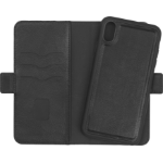 eSTUFF iPhone Xs Max Leather Wallet mobile phone case Wallet case Black