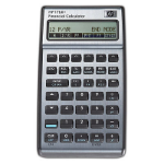 HP 17bII+ Pocket Financial Black calculator