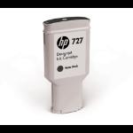 HP 727 Origineel Mat Zwart