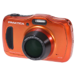 "Praktica Luxmedia WP240 20MP 1/2.3"" CCD 5152 x 3864pixels Compact camera 20MP 1/2.3"" CCD 5152 x 3864pixels Orange"