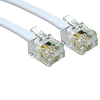 TARGET RJ11 (M) to RJ11 (M) 5m White OEM Cable