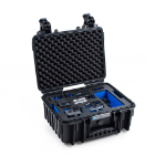 B&W 3000 GoPro Hero 5/6/7 Hard case Black, Blue