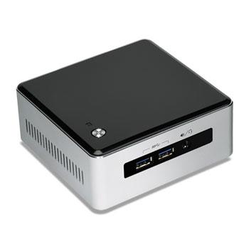 Intel NUC BLKNUC5I3MYHE BGA 1168 2.1GHz i3-5010U UCFF Black,Silver PC/workstation barebone