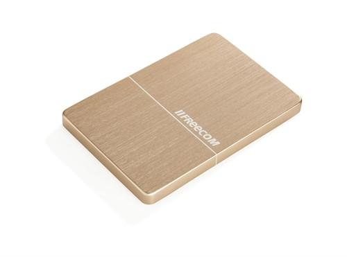 Freecom mHDDSlim external hard drive 1000 GB Gold