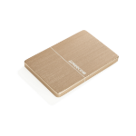 Freecom mHDDSlim 1000GB Gold external hard drive