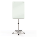 Nobo Diamond Glass Mobile Magnetic Flipchart Easel
