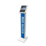 Maclocks 140W Multimedia stand White multimedia cart/stand