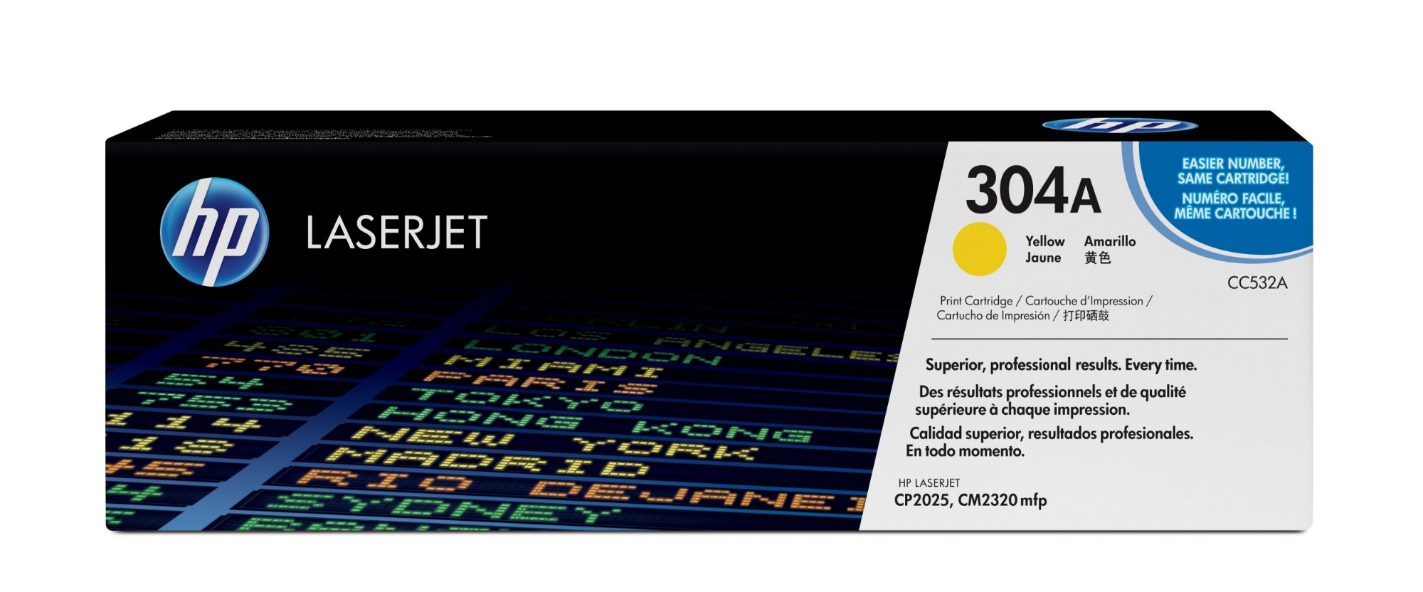 HP 304A Original Amarillo 1 pieza(s)