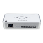 Acer Portable LED C101i Intelligente projector 150ANSI lumens DLP WVGA (854x480) Wit beamer/projector