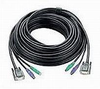 Aten PS/2 , 10m KVM cable Black