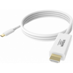 Vision TC 2MUSBCHDMI cable interface/gender adapter HDMI USB-C White