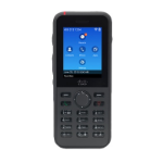 Cisco 8821 IP phone Black Wireless handset Wi-Fi
