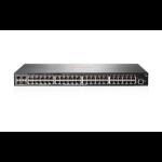 Hewlett Packard Enterprise Aruba 2540 48G 4SFP+ Managed L2 Gigabit Ethernet (10/100/1000) 1U Grey