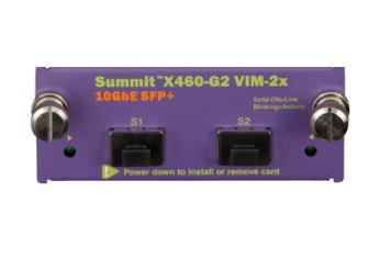Extreme networks X460-G2 VIM-2x network switch module 10 Gigabit Ethernet