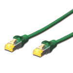 Digitus 1.5M CAT.6A 10Gb S-FTP LSZH PATCH CABLE - GREEN