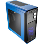 Aerocool Aero-800 Midi-Tower Black,Blue computer case