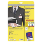 Avery L4726-20 identity badge/badge holder Paper 240 pc(s)
