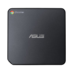 ASUS CHROMEBOX2-G081U 1.7GHz 3215U 0.7L sized PC Grey Mini PC PC