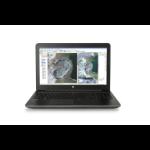 "HP ZBook 15 G3 2.8GHz E3-1505MV5 15.6"" 1920 x 1080pixels Black Mobile workstation"