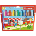 STABILO Power felt pen Medium Multicolour 24 pc(s)