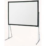 Draper Flexible Matt White Ultimate Folding Screen Complete w/ Standard Legs 10'