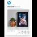 HP Papel fotográfico satinado avanzado - 25 hojas /10 x 15 cm sin bordes