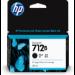 HP 712B 38-ml Black DesignJet ink cartridge 1 pc(s) Original Standard Yield