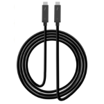 "Siig CB-TB0111-S1 Thunderbolt cable 78.7"" (2 m) Black 40 Gbit/s"