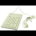 2-Power ACK100-USBBEI USB White keyboard