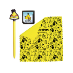 ANGRY BIRDS Stylus Essentials Set (3PC) for Nintendo 3DS, Yellow Bird (35194)