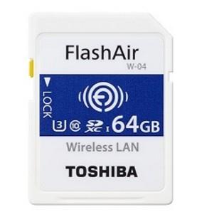 Toshiba Flashair W-04 memory card 64 GB SDXC Class 3 UHS-I