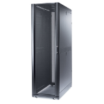 NetShelter SX 42U/600mm/1200mm Enclosure with Roof and Sides Black