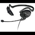 Microsoft LifeChat LX-2000 Binaural Neck-band Black headset