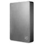 Seagate Backup Plus Portable 5000GB Silver external hard drive
