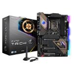 Asrock Z490 TAICHI Intel Z490 1200 ATX 4 DDR4 XFire/SLI HDMI DP AX Wi-Fi 2.5G LAN RGB Lighting M.2